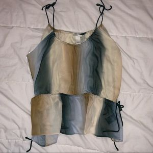 Flowy sleeveless blouse